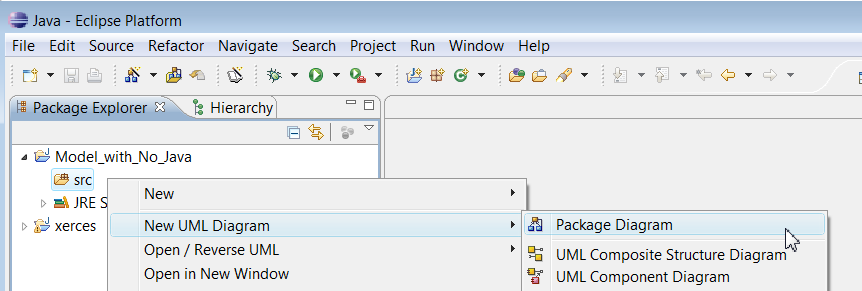 Concept how to create a uml package ccuart Gallery